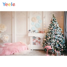 Yeele Photography Backdrops White Room Interior Fireplace Christmas Baby Portrait Photographic Backgrounds For the Photo Studio