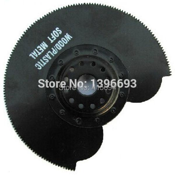 3pcs / set 78 millimetri semicircolare HSS lama oscillante strumento multi lama set di seghe.Per tagliare legno, plastica e metallo morbido.