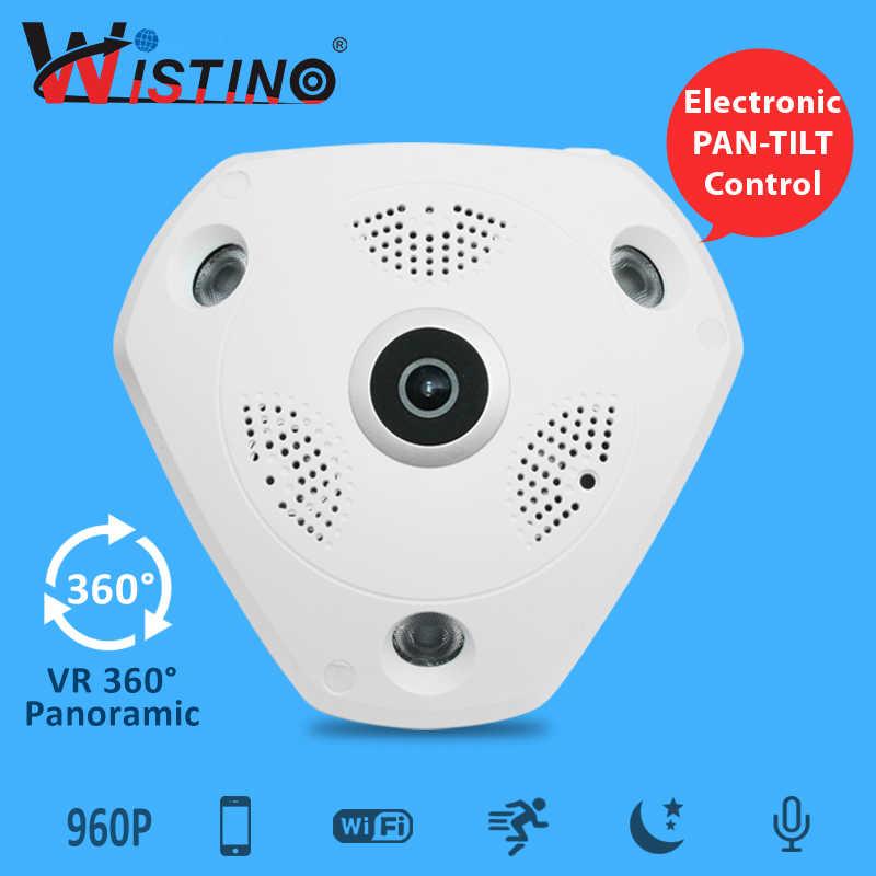 1080P wifi панорамная камера 360 градусов 1.3MP 3MP 5MP рыбий глаз панорамная IP камера PTZ CCTV 3D VR видео IP камера видеонаблюдения HD