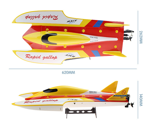 2015 New Arrive WLtoys WL913 Brushless motor Boat Water Cooling High Speed Racing RC Boat RTF 2.4GHz