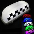 ZYHW Марка 5 Цвет 10 ВОДИТЬ Такси Накрышных Вывесок Супер Яркий 12 В DC Такси Верхний Свет Мозаика Магнитного Автомобиля знаки