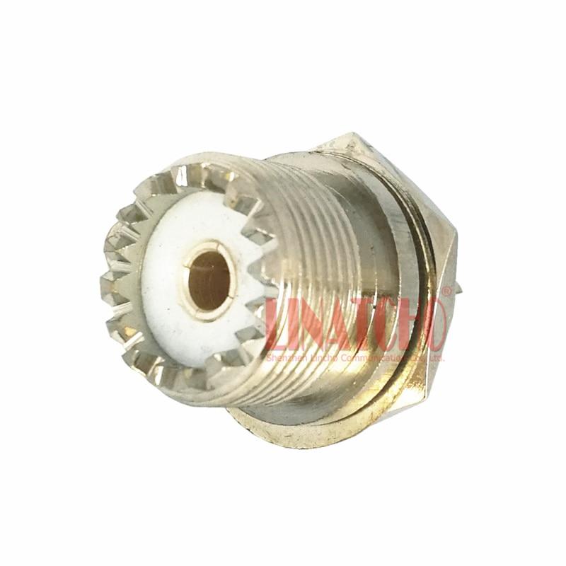 10 Pcs Sales SO239 UHF Female Connector So239 Rf Female   Car Radio Repeater Antenna Socket