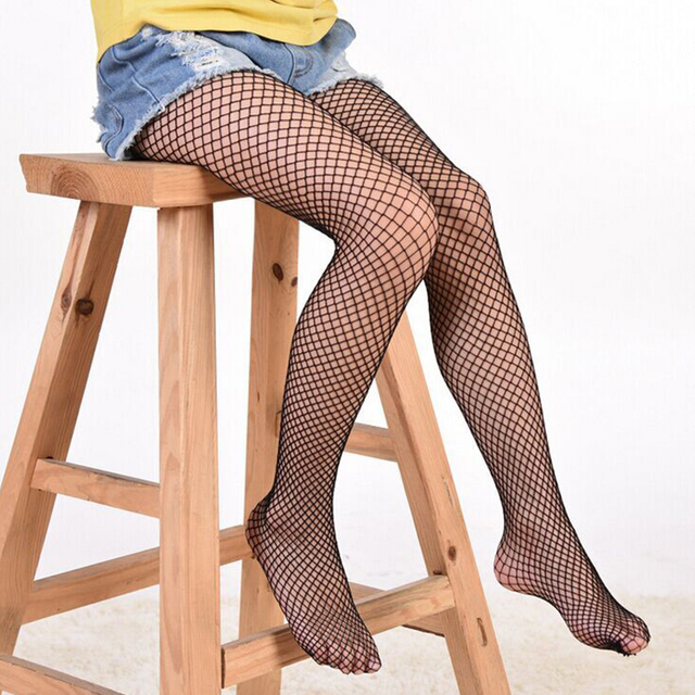 608f3cd98f69f Black Friday Deals 3 Type Fishnet Girls Tights 2017 New Fashion Large Mesh  Black Pantyhose Tights Pantyhose
