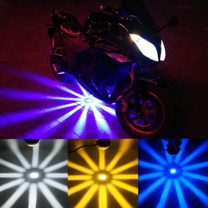 4 אופנוע אופציונלי LED לייזר ספוט אור עם - אופנוע אביזרים וחלקים