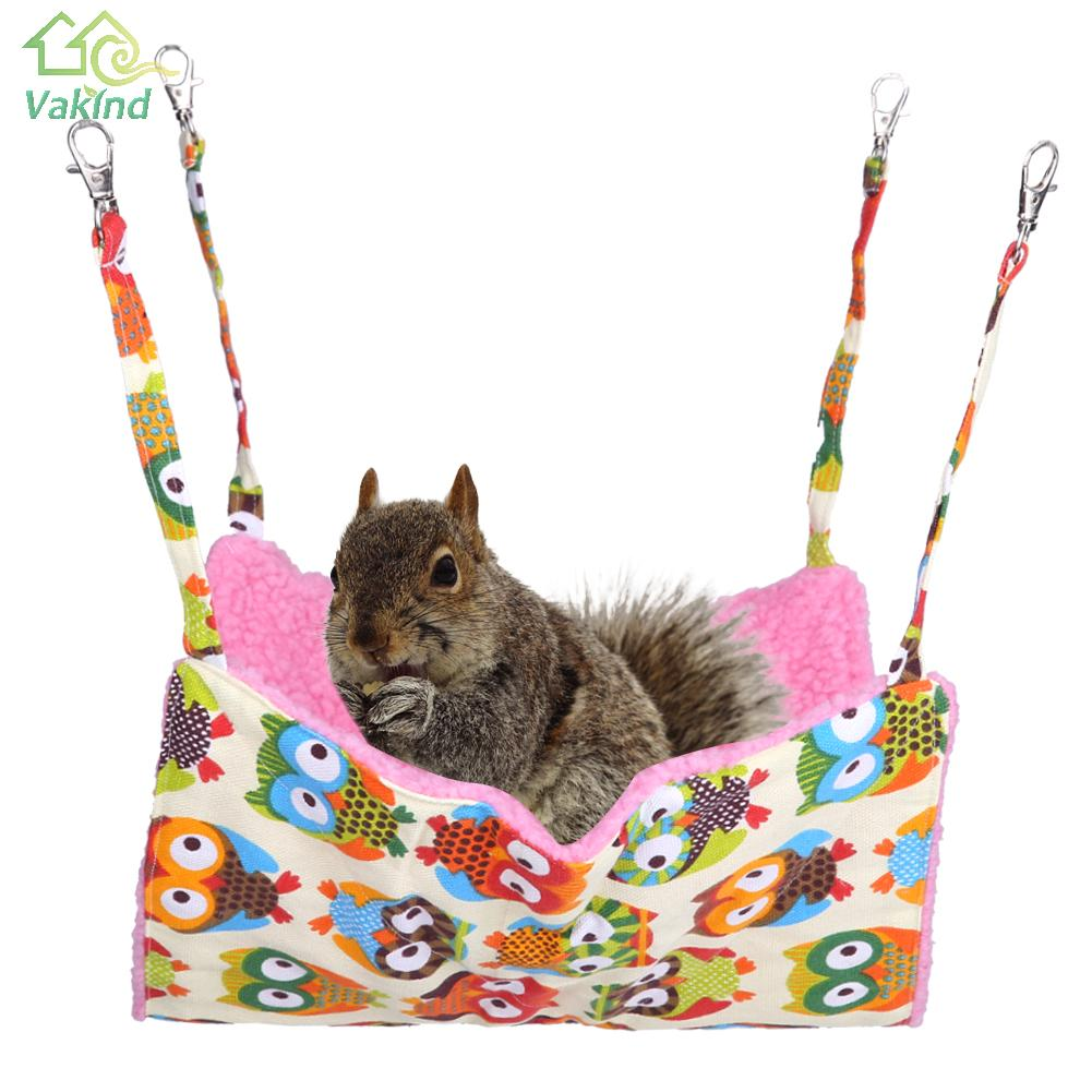 Warm Cat Bed Pet Squirrel Hamster Hammock For Cat Bed House Ferret Cage Comfortable Small Animal House High Quality