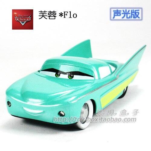 Flo Large acoustooptical automobile race WARRIOR alloy car model toy