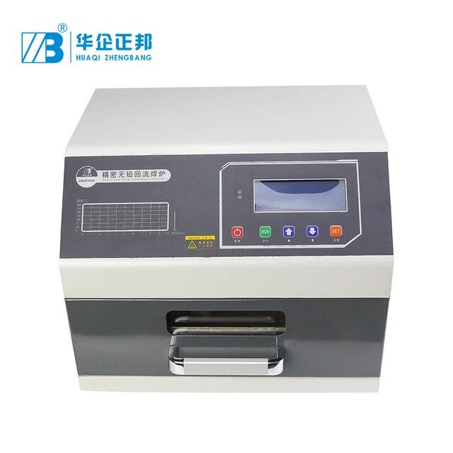 ZB2015HL ตะกั่ว ฟรี Refow เตาอบสำหรับทำ LED light PCB การผลิต,ความแม่นยำสูงลิ้นชักเตาอบ Reflow