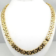 Gold Huge & Heavy Long Stainless Steel Men Chain Necklace