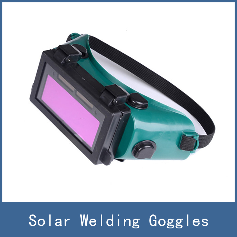 Fully automatic solar charge function DIN9-DIN13 Solar Auto Darkening Welding Helmet Glare Shield Welding Mask Goggles for ARC  цены