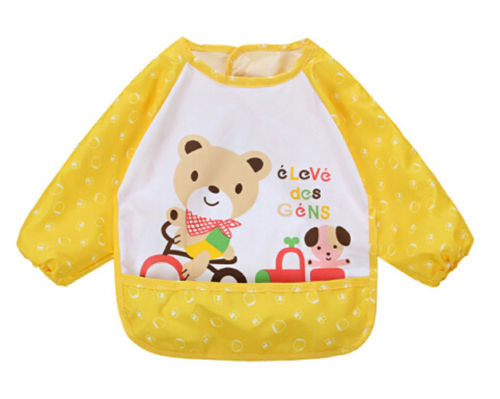 Cute-Infant-Kid-Baby-Feeding-Burp-Apron-Long-Sleeve-Waterproof-Smock-Toddler-Clothes-Bibs-3