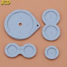 JCD 1 Juego de botones conductores de goma para Nintendo Game Boy Advance SP, botones de almohadillas de silicona GBA SP