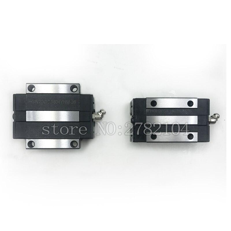 HGH20CA HGW20CC слайдер блок HGH20 CA HGW20 CA подходит для использования HGR20 линейная направляющая для линейной рельсы CNC diy части