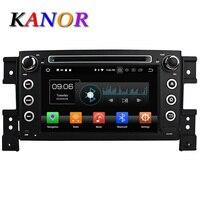 KANOR Android 6 0 Eight Core 2G Car DVD Video Player For Suzuki Grand Vitara 2005