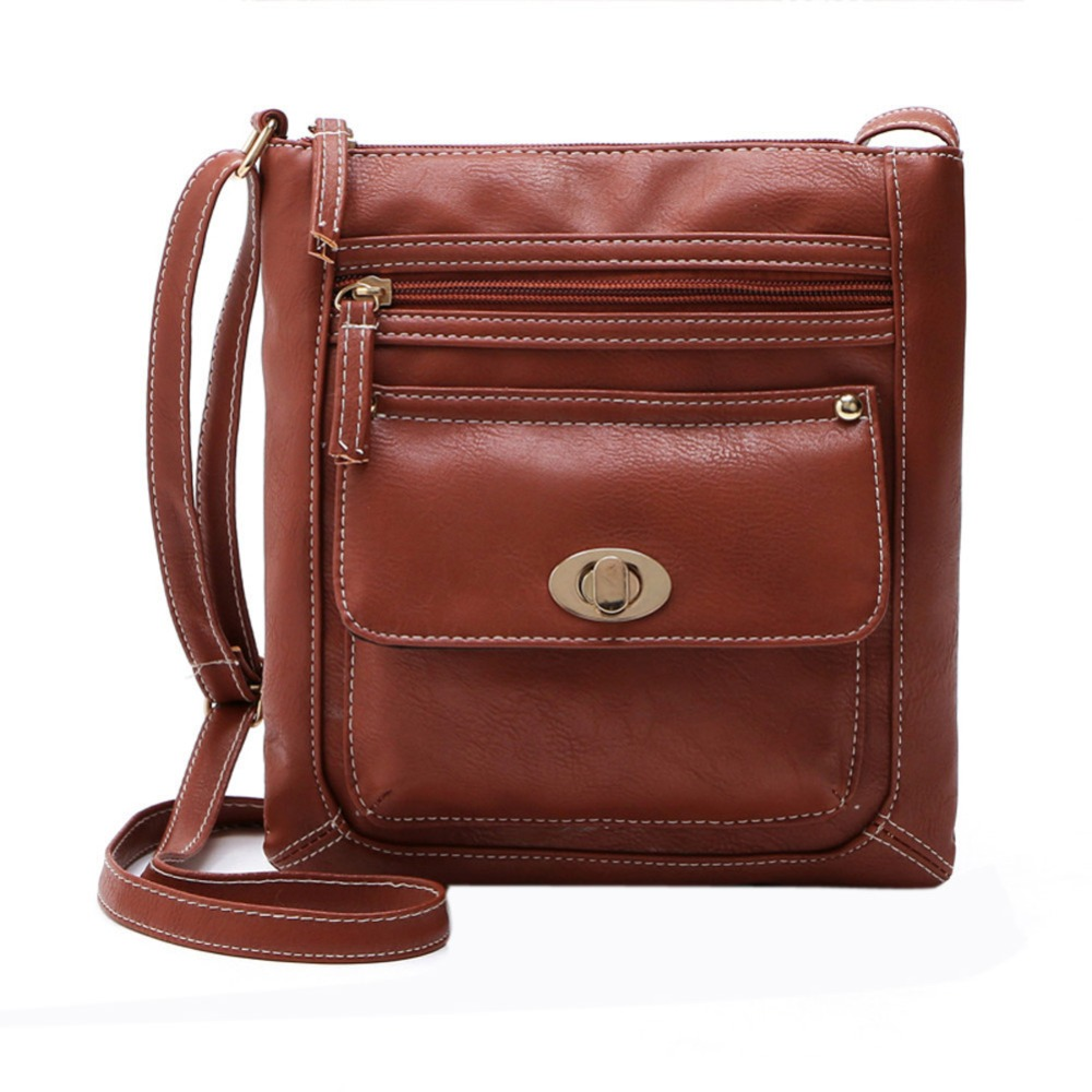 Women Leather font b Handbags b font Shoulder Messenger Bags Fashion Crossbody Bag for Women Satchel
