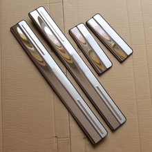 Stainless Steel Door Sill Scuff Plate Trim for Ford New Focus 3 2 Hatchback Sedan 2012