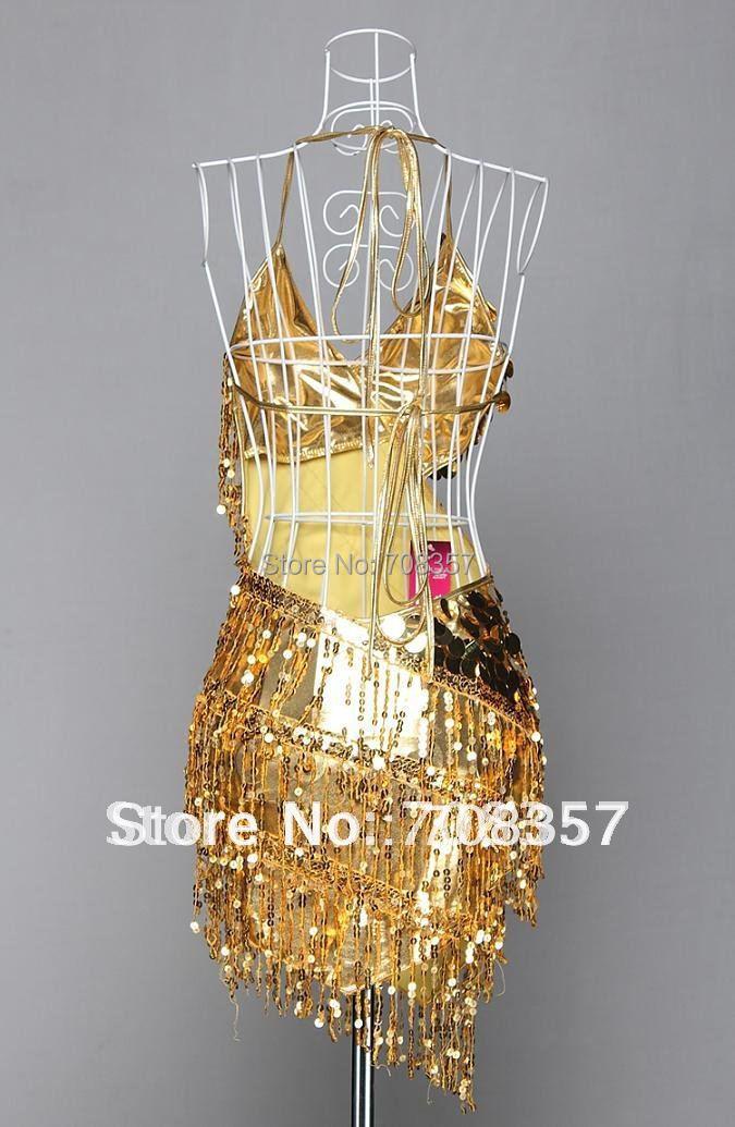 Стиль сексуальные взрослых Костюмы для латиноамериканских танцев платье Блестящий Блёстки Fringe спинки Костюмы для латиноамериканских танцев танцевальная Юбки для женщин платье Мода Стадия Платье для Костюмы для бальных танцев платье