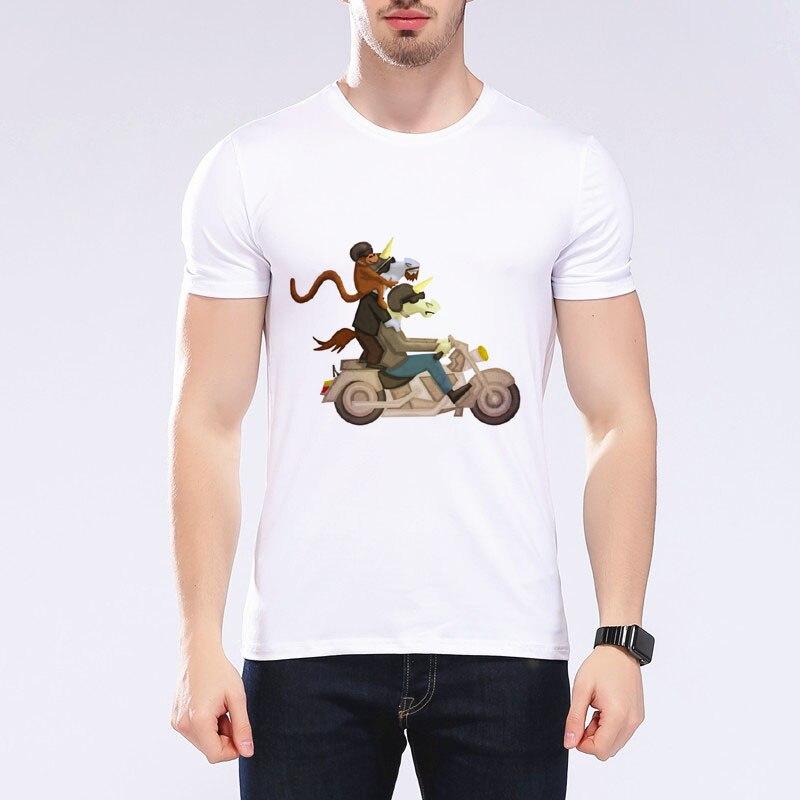 Francia bulldog lovaglás tricikli dizájn férfi póló rossz kutya - Férfi ruházat