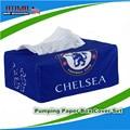 Famoso Clube de Futebol Chelsea Chelsea FC Caso Guardanapo Titular Caixa do Tecido Suporte De Papel Guardanapo Tampa Veículo Auto Decoração de Interiores