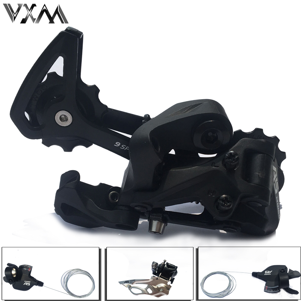 VXM Bicycle Derailleur 3X9 27 Speed 3X10 30 Speed 3X11 11 Speed MTB Front Rear Shifter Derailleur Groupset for Bicycle Parts bicycle mtb 3x10 30 speed front rear shifter derailleur groupset for shimano m610 m670 m780 system