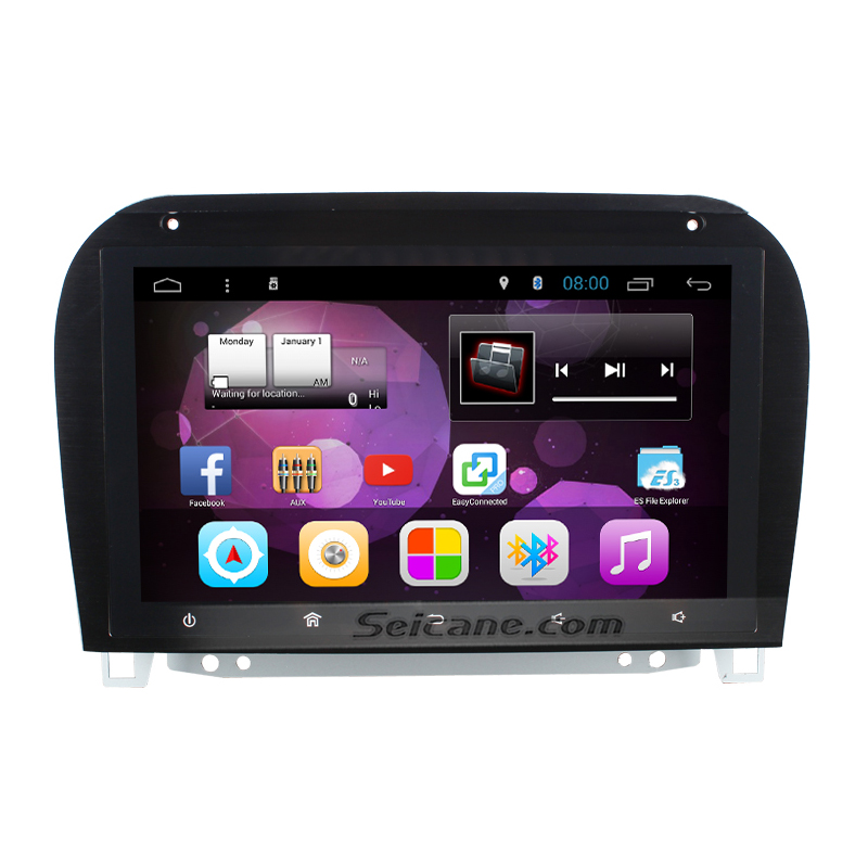 Seicane 9 inch android 4 4 radio gps for 1998 2005 for Mercedes benz app for android