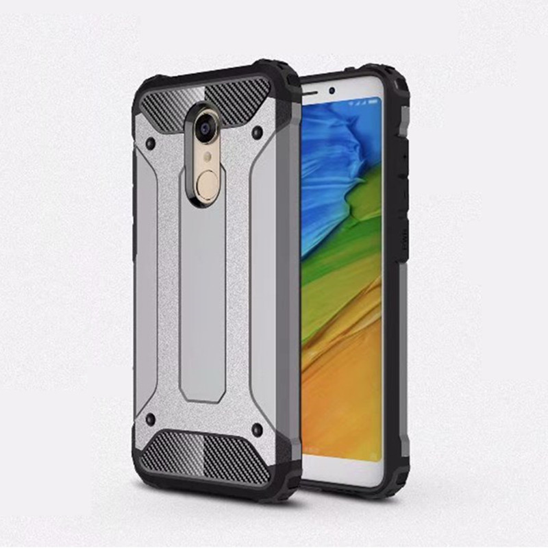 Shockproof Armor <font><b>Case</b></font> For Xiaomi Redmi 4X 4A 5 Plus 6 6A NOTE 4 5 5A Pro Prime Hybrid TPU Rugged Cover For <font><b>Mi</b></font> A1 5X 6X A2 8 <font><b>8SE</b></font> image
