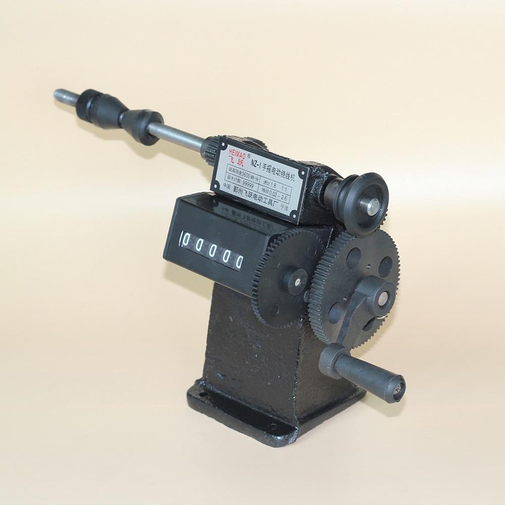 Bobinatrice manuale di conteggio della bobina della mano della doppia - Set di attrezzi - Fotografia 2