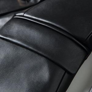 Image 5 - Blouson en Faux cuir femmes, boutons en métal, tendance Baroque, Blazer de styliste, tendance 2020