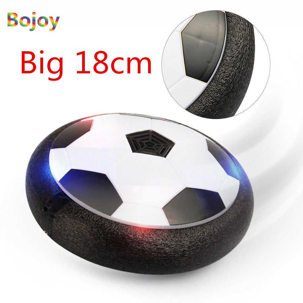 LED Light Hover Ball Air Power Soccer Ball Indoor Football Toy Multi-surface Hovering and Gliding Outdoor Toy As Christmas Gifts