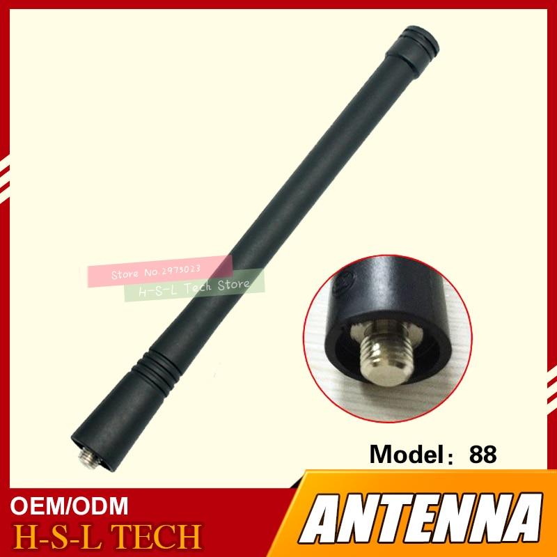 Walkie Talkie Rubber Antenna 136-174Mhz VHF MOTO Interface For Motorola GP68 GP88 GP88S GP3188 GP3688 GP2000 GP2000S GP328 GP338