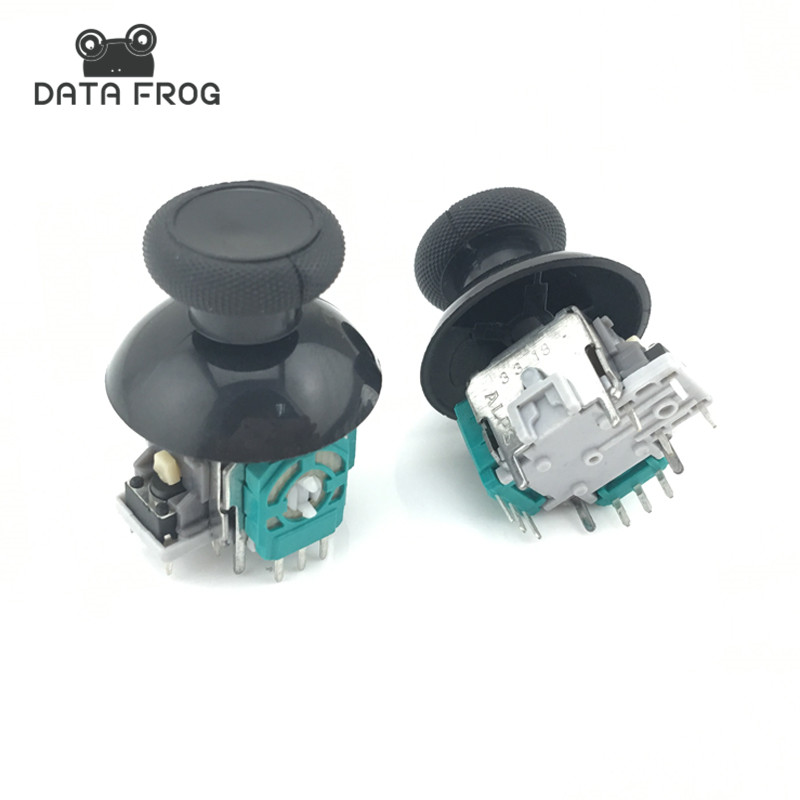DATA FROG  2pcs 3D Analog Joystick Stick Sensor Module Potentiometers+ 2thumbsticks For Microsoft Xbox One Wireless Controller