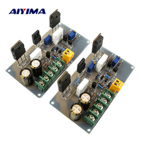 Aiyima 2PC A30 Audio Amplifier Board HI FI 2 Channels Fever Pure Class A Home Amplifier Finished Board 30W+30W