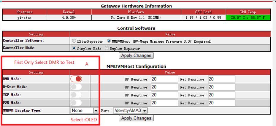 BIG SALE] jumbospot MMDVM hotspot Support P25 DMR YSF + raspberry pi