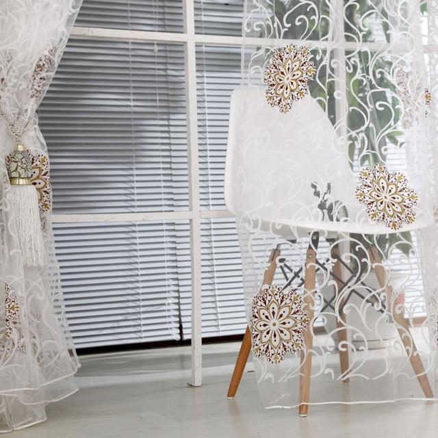 Line String Window Curtain Tassel Door Room Divider Scarf Valance