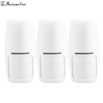 3pcs Stable 433MHz Wireless PIR Sensor Motion Detector For GSM PSTN Security Alarm System Auto Dial Alarm Kit fuers 3pcs lot 433mhz wireless pir motion sensor built in antenna infrared alarm detector for gsm pstn home alarm system