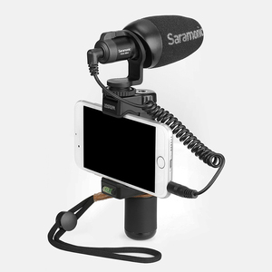 Image 4 - Saramonic Vmic Mini Condenser Microphone with TRS & TRRS Cable Vlog Video Recording Mic for iPhone Android Smartphones PC Tablet