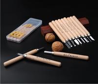 Darmowa Wysyłka Drewniane Kuter Drewna Rzeźba Narzędzia Do Obróbki Drewna Drewniane Nóż Ręcznie Nóż Gumowy Nóż Carving Knife Set