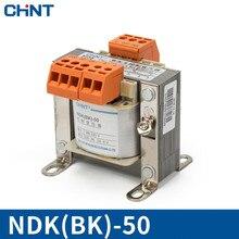 цена на CHINT BK-50VA 110v Control Transformer NDK-50W 380V220V Change 24v36v12v Transformer