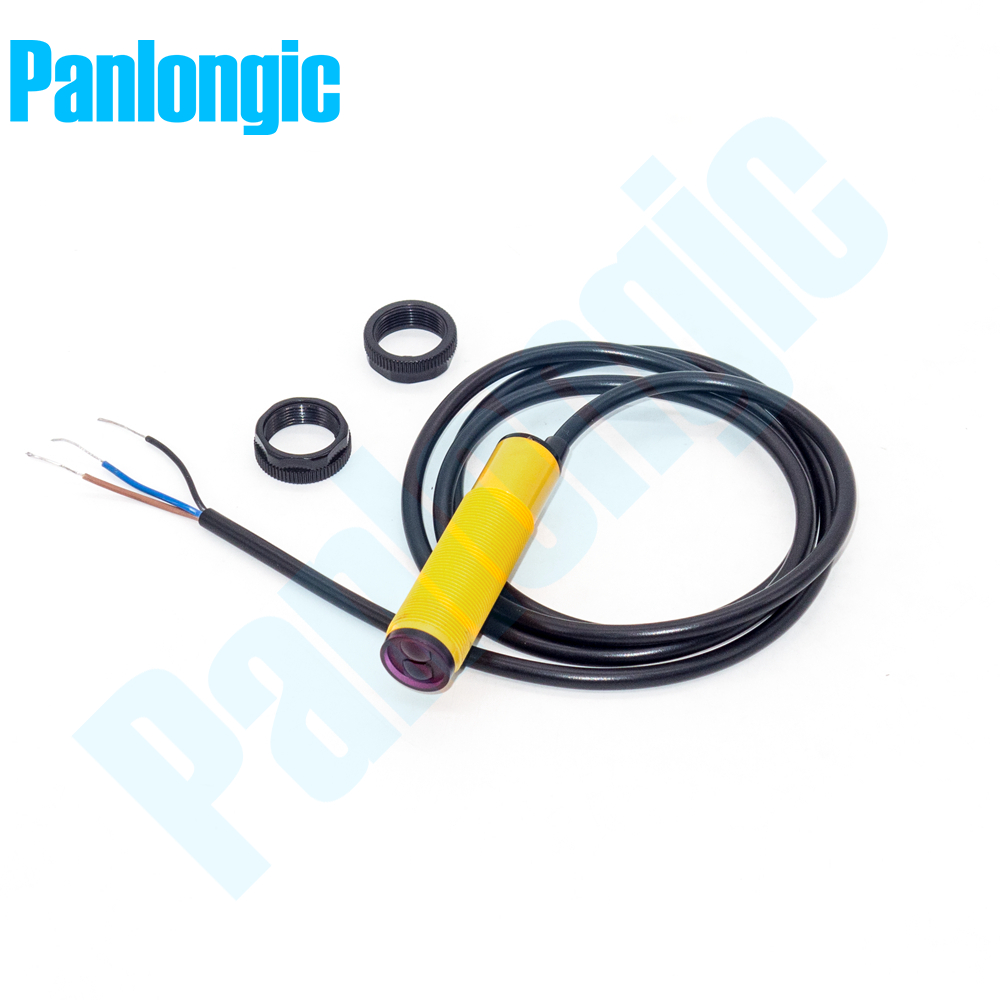 E3F-DS10C4 DC10-30V 100mm Infrared Ray Photoelectric Sensor Switch