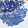 1440 unids es6 2 mm cristal de zafiro de los Rhinestones del Hotfix no para uñas uñas 3D Art decoraciones DIY Jewerly de los granos envío gratis