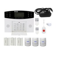 GSM Wireless Home Burglar Alarm System SOS Motion Door Window Sensor Security Auto Home Security Safe Alarm System