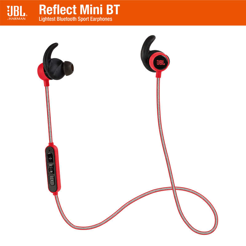 99c38fce2af JBL Reflect Mini BT Wireless Bluetooth Earphone In-Ear Ergonomic Music  Sport Run Ear-