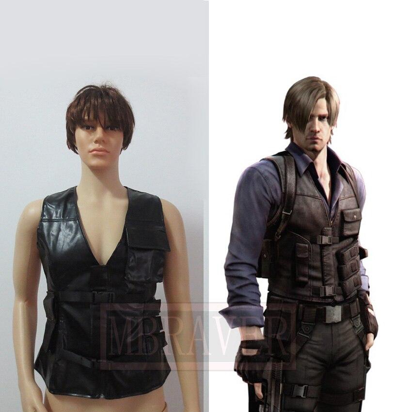 Resident Evil 6 Leon Scott Kennedy R P D Uniform Cosplay Costume