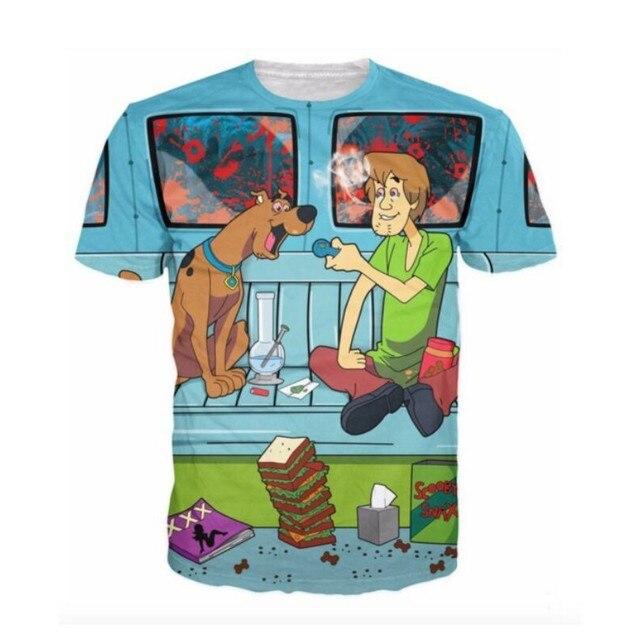 2017 Newest printed creative t shirt 3d men's t-shirt summer novelty 3D feminina psychedelic tee shirts