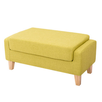 Fabric sofa stool bed end footstool clothing store shoe shop bench stool american style dressing stool solid wood leather pedal simple bed end stool continental long shoe bench bedroom makeup stool