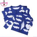 New Family Matching Clothes 2017 Winter Family Look Long Sleeve Cloud Cardigan Sweater Family Father Son Mother Daughter Clothes