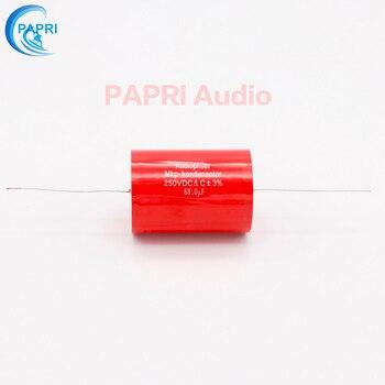 цена PAPRI 68UF 250VDC Axial MKP DIY Audio Grade Capacitor For HiFi Tube Guitar Amplifier  Lot/1PCS онлайн в 2017 году