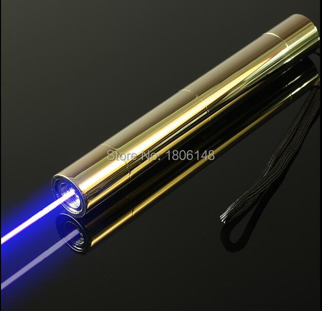 High power 500000m 5000w 450nm Blue laser pointers camping signal lamp Flashlight Burning match dry wood black cigarettes 5 caps in Lasers from Sports Entertainment