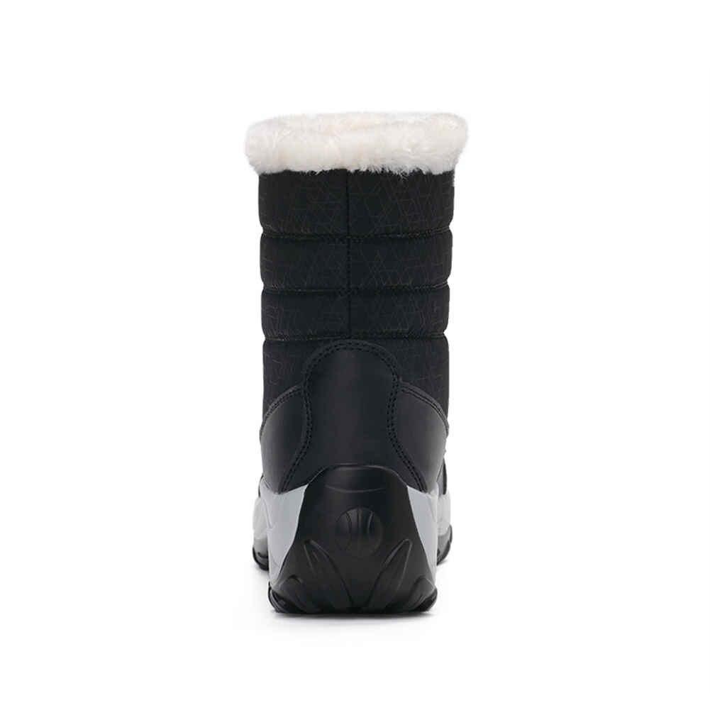 Doratasia Siyah Açık Çizmeler Kadın Ayakkabı Kaymaz Su Geçirmez Rusça Kış Kar çizmeler kadın ayakkabıları Sıcak Peluş Botas Mujer