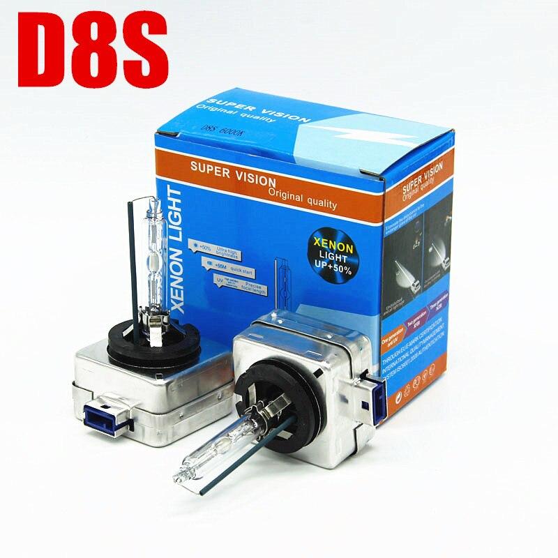 AFAECAR OEM D8S Xenon Headlight 25W D8S Bulb Hid Light 6000K 4300K 8000K