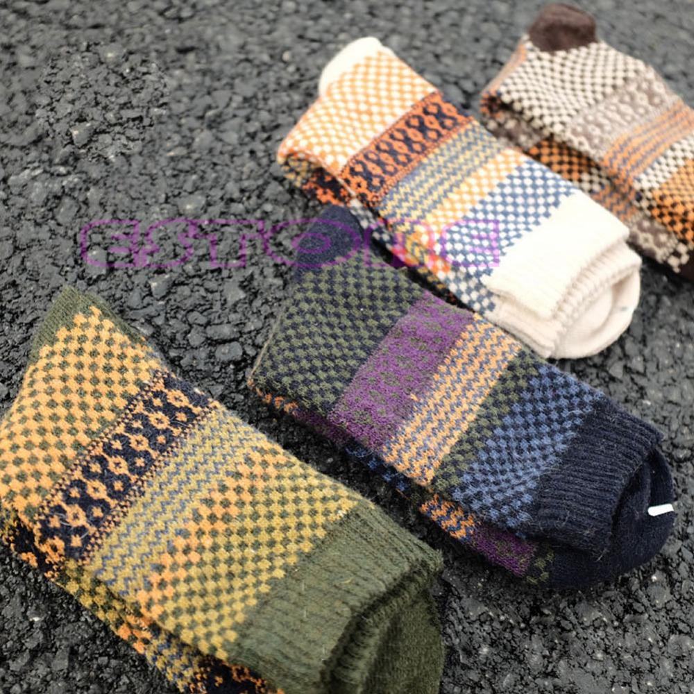 Unterwäsche & Schlafanzug 4 Paar Beiläufige Mens Warme Winter Weichen Dicken Angora Kaschmir Kaninchen Wolle Mischung Socken Hoher Standard In QualitäT Und Hygiene